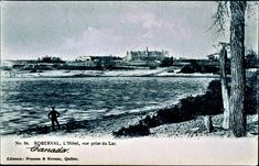 Chateau Roberval vue du Lac St-Jean Waves, Outdoor, Historical Pictures, Antique Pictures, City, The Beach, Outdoors, Ocean Waves, Outdoor Games