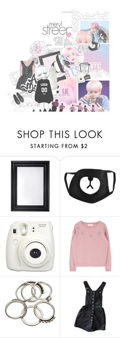 """Still Wishing There Will Be Better Days"" by nickianna ❤ liked on Polyvore featuring November, Deknudt Mirrors, Fujifilm, Pink, roses, manga, bts and jimin"