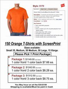 150 Hanes®-ComfortBlend® EcoSmart® with Print - http://get.sm/fbVNUB6 #tradebank T-Shirts,Knoxville TN