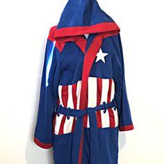 Marvel Captain America Hooded Bath Robe Men s Size Small Medium NWOT   fashion  clothing  shoes  accessories  mensclothing  sleepwearrobes (ebay  link) 2c8054c38