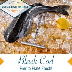 The silky-white flesh of the Fulton Fish Market's Black Cod cooks up velvety and subtle in flavor with large, moist white flakes. If you like Chilean Sea Bass, you love this fish! Seafood Rice Recipe, Seafood Lasagna Recipes, Seafood Casserole Recipes, Seafood Boil Recipes, Seafood Paella, Paella Recipe, Seafood Soup, Seafood Salad