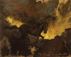 "lunasabatica:""David S. Herrerias: The Triumph of Death, Pieter Bruegel, Life Paint, Dark Pictures, Mexican Artists, The Grim, Fantastic Art, Halloween Art, Skull Art, Archetypes"