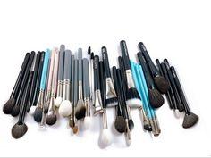 Brow Brush, Contour Brush, Eyeliner Brush, Concealer Brush, Blending Eyeshadow, Eyeshadow Brushes, Best Affordable Makeup Brushes, Beauty Makeup, Face Makeup