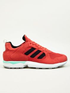 low priced 71aca 3b5e6 Adidas Originals Mens Red ZX5000 RSPN 90s Sneakers  oki-ni 90s Sneakers,  Adidas