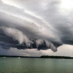 Lake Martin Alabama one of the best places in the world to watch a thunderstorm roll in