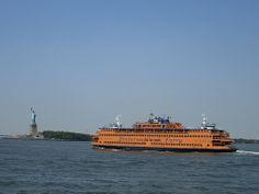 Staten Island Ferry, NYC. Nueva York