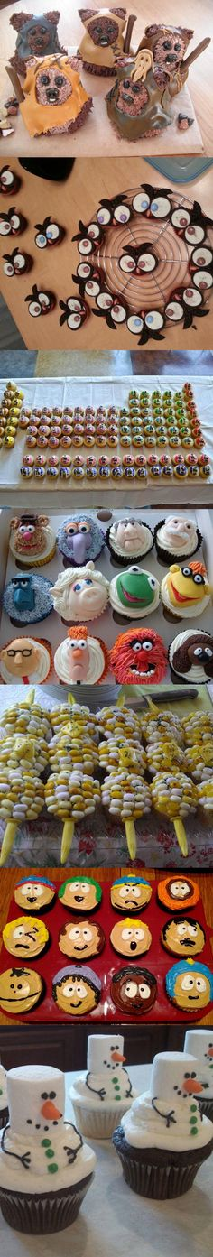funny-cupcakes-popcorn-shape-perfect-Ewok
