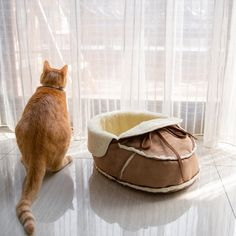 Found it at Wayfair.ca - Moccasin Pet Bed