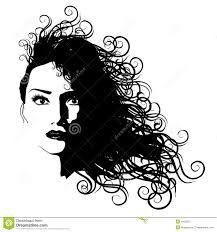 Resultado de imagem para cabelos esboços