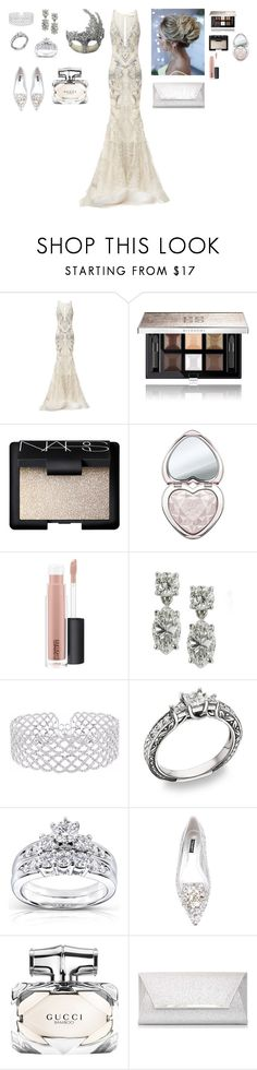 """""""Moon lace masquerade"""" by me1ody ❤ liked on Polyvore featuring Luna, Rachel Gilbert, Givenchy, NARS Cosmetics, Too Faced Cosmetics, MAC Cosmetics, Kobelli, Dolce&Gabbana, Gucci and Dorothy Perkins"""