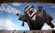 Smug, street art with a capital. : Urban Distortion