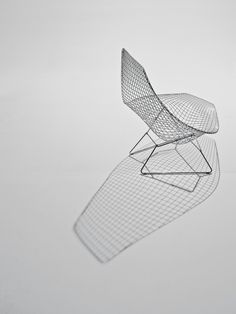 #Bertoia asymmetric chaise -- great indoors or outdoors