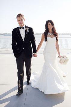 Wedding Attire: Paloma Blanca + Calvin Klein,   Photography by loveala.com