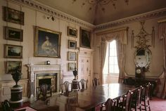 Nostell Priory ~ view of the small dining room
