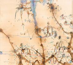 Australian Painting, Australian Art, Abstract Landscape, Landscape Paintings, Landscapes, Abstract Art, Famous Art, Olsen, Life Is Beautiful