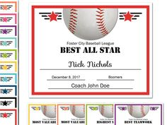 Editable Pdf Sports Team Soccer Thank You Coach Certificate Award