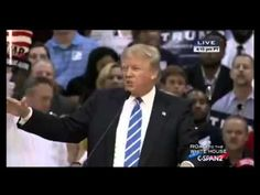 Donald Trump vs Hecklers At Richmond Campaign Rally