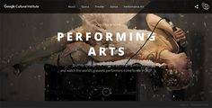 Google - Performing Arts By Google Brand Studio