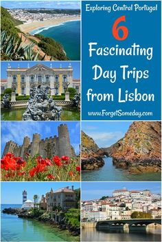 Day Trips from Lisbon | Fascinating destinations within a short drive, bus, or train ride from Portugal's capital city | Several of these locations warrant more than just a day trip from Lisbon | Transportation options included! | Learn how to get to thes