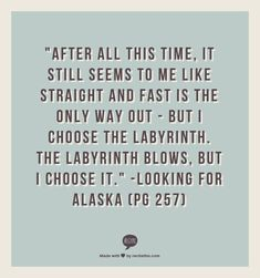 Looking For Alaska Quotes With Page Numbers Awesome Looking For Alaska Quotes With Page Numbers  Google Search  Song