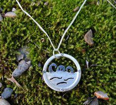 Mira este artículo en mi tienda de Etsy: https://www.etsy.com/es/listing/270232738/collar-plata-ojo-de-buey-collar-pulpo