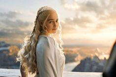 Os cabelos mais lindos do último episódio de Game of Thrones.