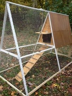 Homestead #Chickens #ChickenCoop - A-frame Chicken Coop by ...