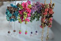 Some together   Polymer clay miniflowers on chain   Zuzana Liptáková   Flickr