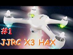 JJRC JJPRO X3 HAX | распаковка | калибровка компаса | облёт | MikeRC 201...