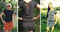 Kleid Rosina Gr.34-46 - Schnittmuster und Nähanleitungen bei Makerist