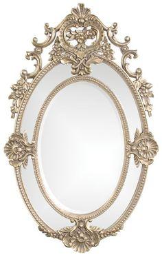 french antique silver  classymirrors.com  $530