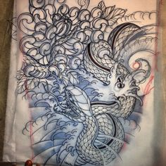 Pre-tattoo by Henry Gae - Full Circle Tattoo San Diego