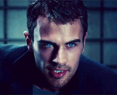 The blue eyes sort of throw me...Theo James...Underworld Awakening.