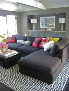 Seccional living room
