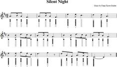 Silent Night Sheet Music for Tin Whistle