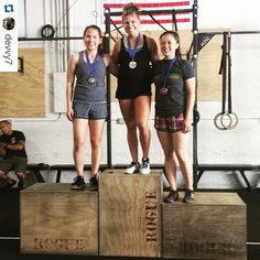 """Another congratulations to Devon @devvy7 winning first place at the Madfit Games CrossFit competition today. Way to go D!!! ・・・ Hard work pays off! So humbled to win 1st place in women's RX at the #madfit2015 games. Much love to my fellow competitors who rocked it. Now to enjoy my night! #crossfit #crossfit101 #givemeabeer #idothissoicanlookgoodnaked "" Photo taken by @hgxfit on Instagram, pinned via the InstaPin iOS App! http://www.instapinapp.com (06/27/2015)"