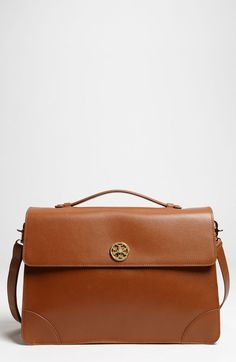 For me: Tory Burch Brown Robinson Briefcase