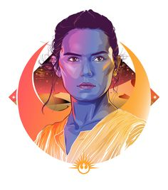 Star Wars: The Force Awakens Portraits - Created by Cryssy Cheung