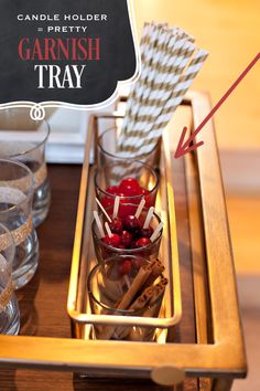 Bar Cart Party Styling Tips + {Simple!} Spiced Fall Cocktail