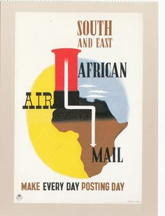 (40953) Photocard - South and East African Airmail - Post Office modern issue in Collectables, Postcards, Royal Mail | eBay £1