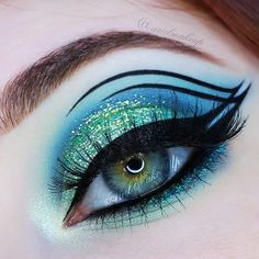 Ariel Make Up ~ Make Up & Beauty with a Princess Touch: ♕ Make Up Look ~ Ocean Waves ♕
