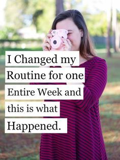 The perfect morning and night routine for a busy college student!