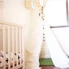 Onpa ihanaan käyttöön päässyt tämä huopapallomatto! #HuopaPalloMatto #lastenhuone #sisustus #lapset