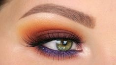 Sunset Smokey Eye | JACLYN HILL X MORPHE PALETTE