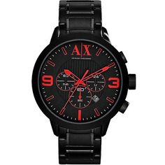 cfdd2934c10 online shopping for Armani Exchange Atlc Chronograph Black Dial Black  Ion-plated Mens Watch from top store. See new offer for Armani Exchange  Atlc ...