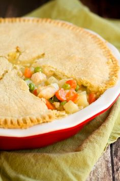 Gluten Free Chicken Pot Pie - this classic food CAN be gluten free!