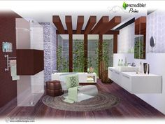Sims 4 CC's - The Best: Bathroom by  SIMcredible!