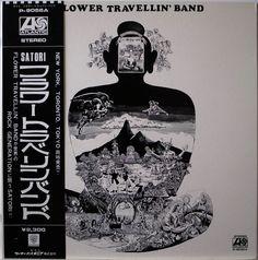 FLOWER TRAVELLIN' BAND / SATORI / PSYCH / WARNER PIONEER JAPAN OBI P-8056A