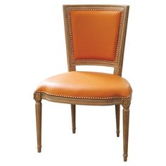 I pinned this Global Views Marilyn Leather Side Chair from the Barrie Benson Interior Design event at Joss & Main!