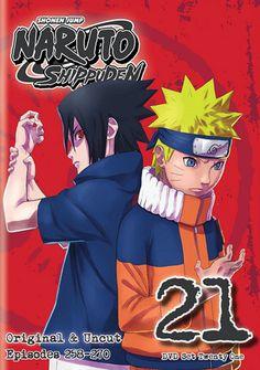 Naruto: Shippuden DVD Set 21 (Hyb) Uncut #RightStuf2014.